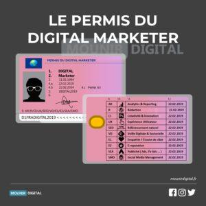 Le permis du digital marketer - Mounir Digital