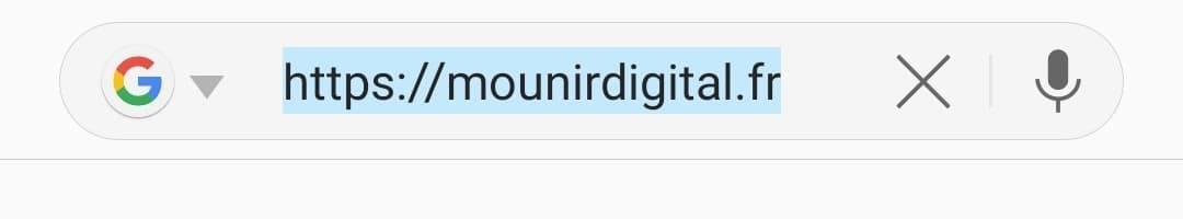Les principales sources de trafic - Trafic direct - Mounir Digital