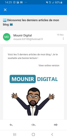 Les principales sources de trafic - Trafic mail - Mounir Digital