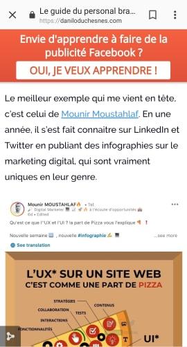 Les principales sources de trafic - Trafic référent - Mounir Digital