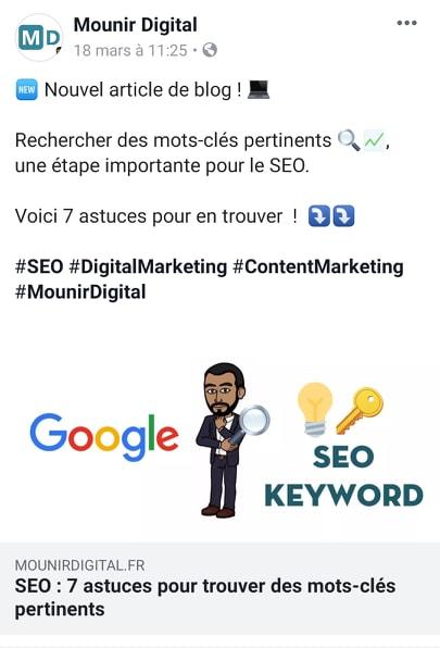 Les principales sources de trafic - Trafic social - Mounir Digital