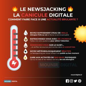 Le Newsjacking : La canicule digitale