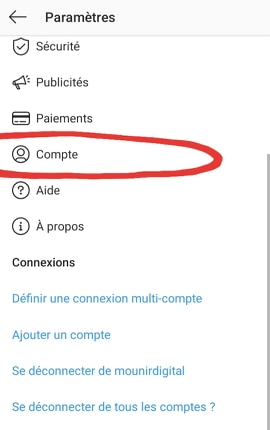 Comment programmer les publications sur Instagram 2 - Mounir Digital