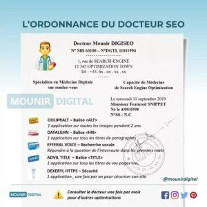 Mounir Digital - L'ordonnance du docteur SEO