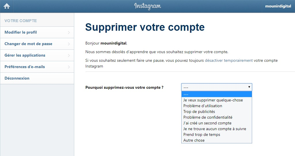 supprimer-son-compte-instagram-choix-2-mounir-digital