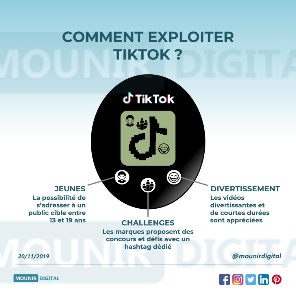 Comment utiliser Tiktok pour son entreprise ? - Mounir Digital