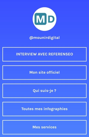 Linktree Mounir Digital