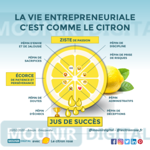 Mounir Digital - La vie entrepreneuriale c'est comme le citron