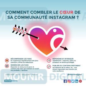 Mounir Digital - Comment comblet le coeur de sa communauté Instagram