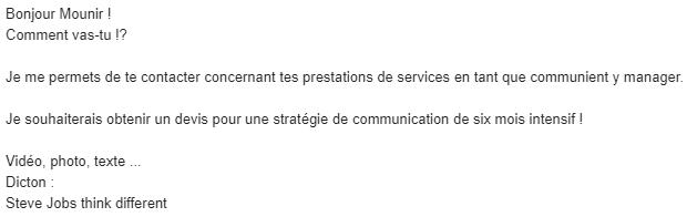 Mounir Digital - Atelier LinkedIn - screen prospect 2