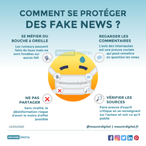 Mounir Digital - Comment se protéger des fakes news