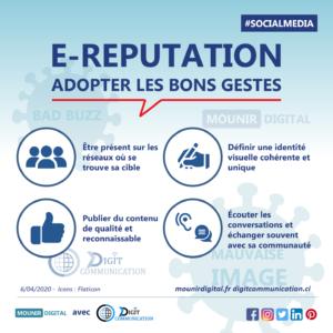 Mounir Digital - E-réputation, comment adopter les bon gestes - avec Digit Communication