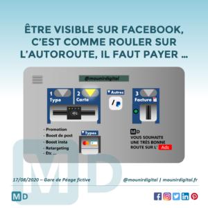Facebook Ads et Autoroute - Mounir Digital