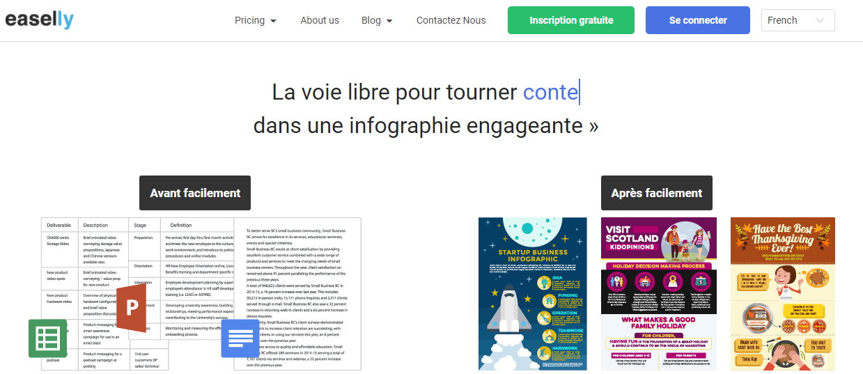 5 outils pour réaliser ses infographies - Mounir Digital - easelly