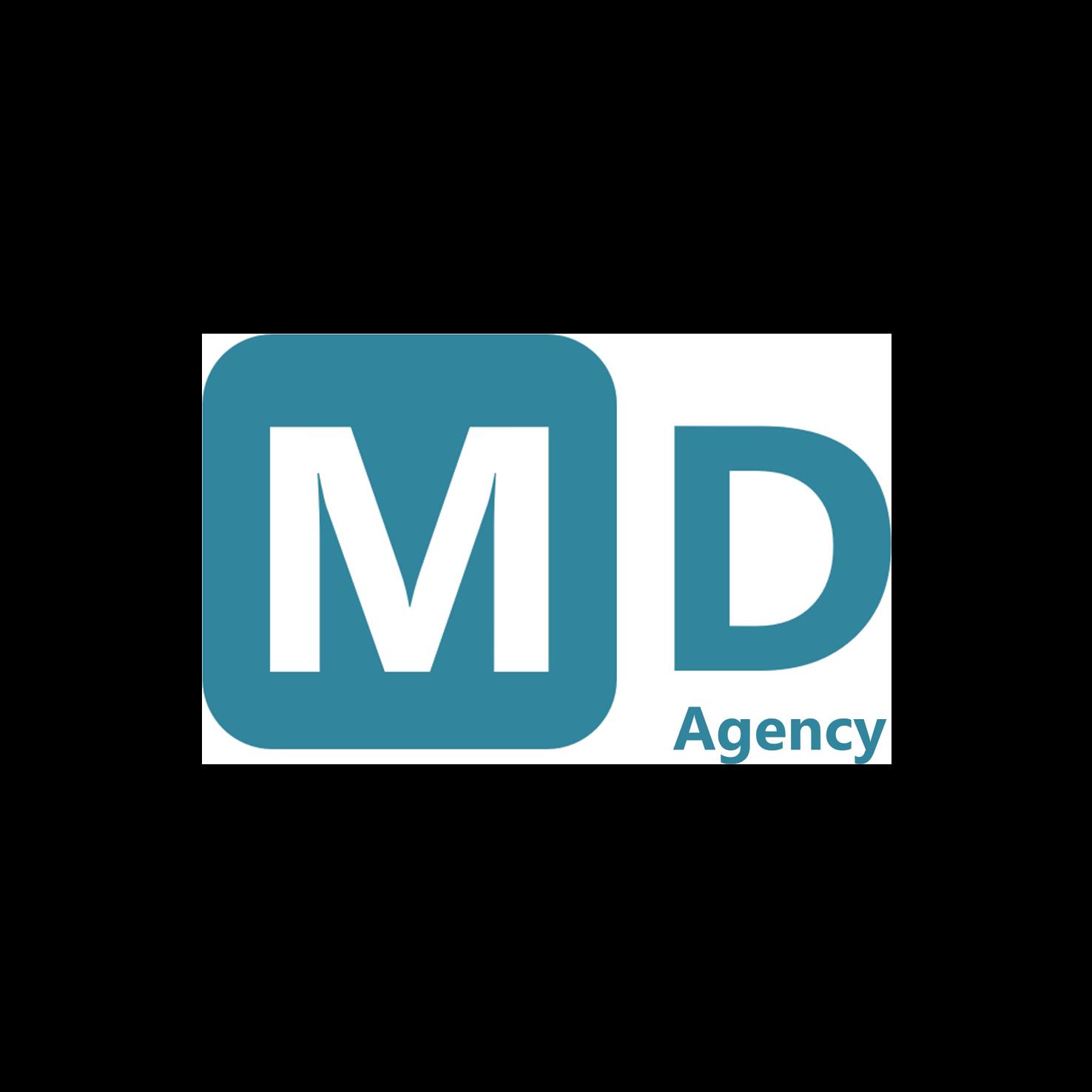 Logo md agency shadow
