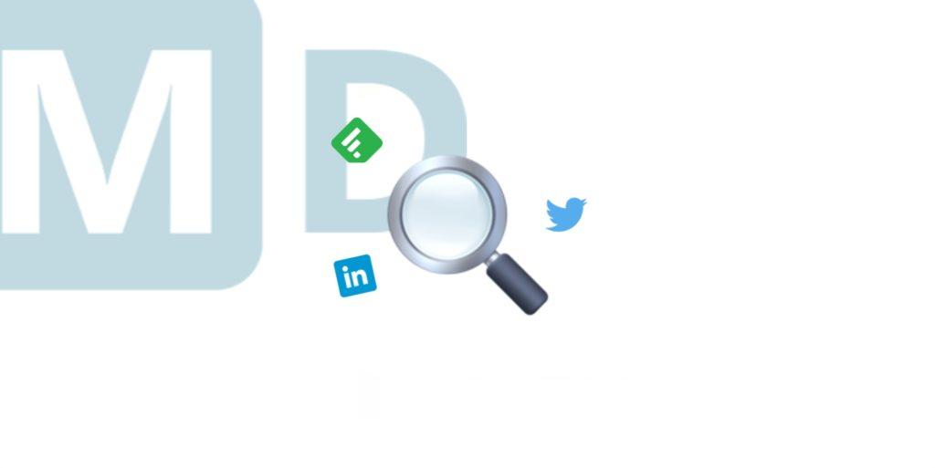 En-tête : 6 outils pour réaliser sa veille efficace - Mounir Digital