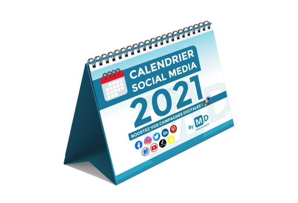 Calendrier Social Media 2021 - Mounir Digital