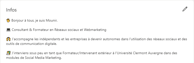 Comment se démarquer sur LinkedIn - Résumé - Mounir Digital