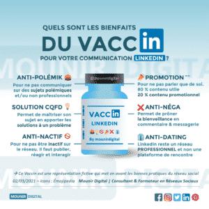 Les bienfaits du vaccin pour votre communication LinkedIn