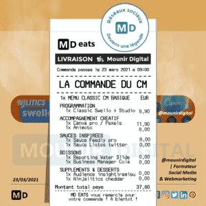 Mounir Digital - La commande de livraison du CM