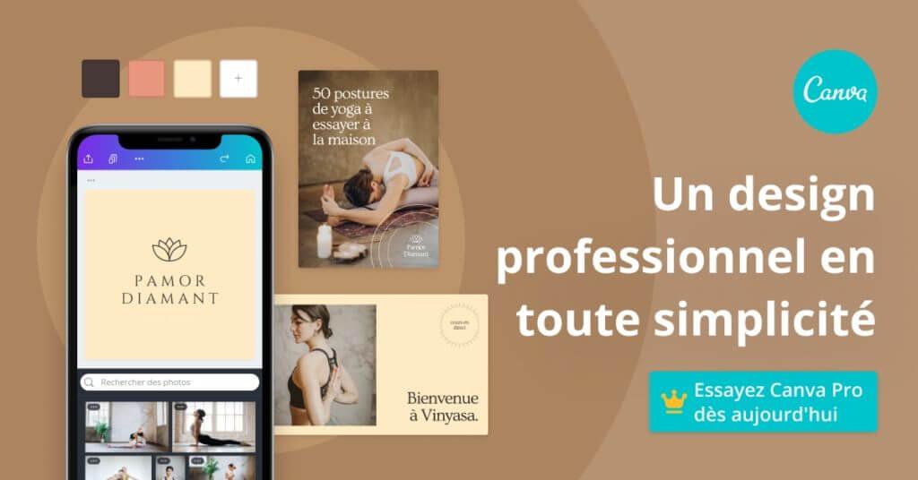 Pourquoi choisir Canva pro ? - Bannière - Mounir Digital